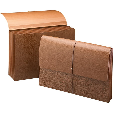 Leather-Like Partition Wallets with Elastic Cord