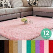 Rectangle Area Rug Floor rug Shaggy Rug Fluffy Rug Anti-skid Floor Rug For Bedroom Living Dining Room