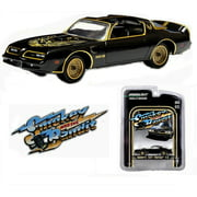 """Greenlight Collectibles 44710-A 1:64 Scale 1977 Pontiac Trans Am """"Smokey and the Bandit"""" Diecast Movie Car"""