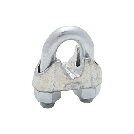 National Hardware MP3230B Wire Cable Clamp, 1/2 in, Steel U-Bolt ...