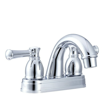 Dura Faucet Designer Arc Spout RV Lavatory Faucet - Chrome Polished
