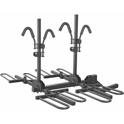 """Curt Manufacturing Cur18086 4 Bike Hitch Mounted Tray-Style Bike Rack, Fits All 2"""" Receivers by Curt Manufacturing"""