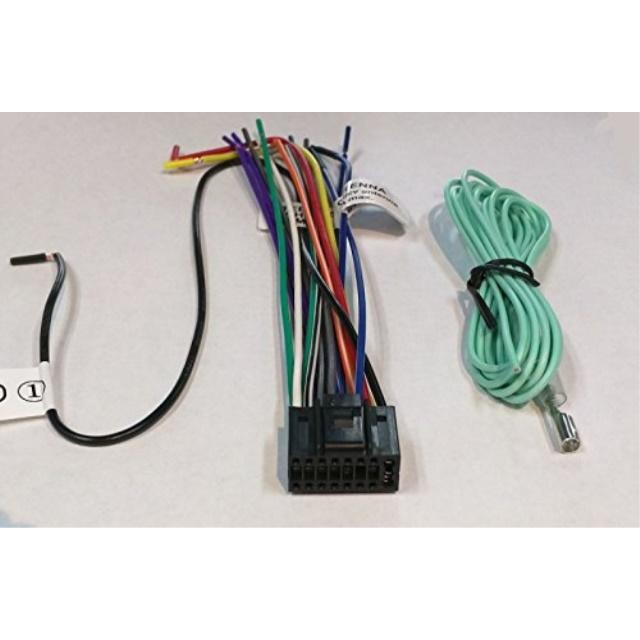 wire harness for jvc kdr530 kdr540 kdr640 kdr650 kds19 kds28 kds38 rh walmart com Excavator JVC Wiring Harness JVC Harness Diagram