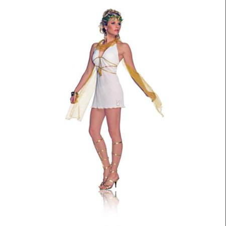 Playboy Sexy Greek Goddess Adult Costume Small - White Greek Goddess Costume