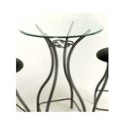 Glass Round Bistro/ Bar Table Top (24 in.)