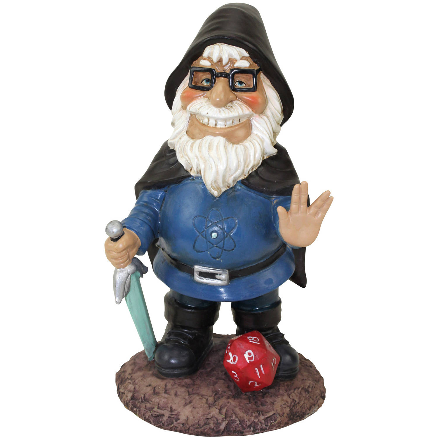 Beard-O The Geeky Garden Gnome by Generic