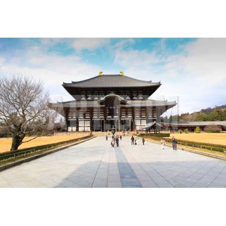 Todaiji Temple - Todaiji Temple Print Wall Art By thanomphong