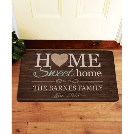 Personalized You Are Home Doormat for $<!---->