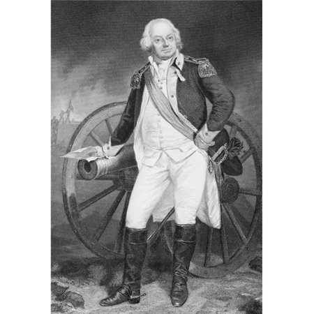 Benjamin Lincoln 1733 -1810 Army Officer During American Revolution Suppressed Shays Rebellion In Western Massachuset 2 Poster Print, Large - 22 x 34 - image 1 of 1