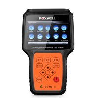 Foxwell NT650 OBD2 Scanner SAS ABS Airbag SRS EPB TPMS CVT BRT TPS Oil Reset Odometer Gear Learn Injector Coding DPF Regeneration Check Engine Code Reader OBDII Automotive Diagnostic Scan Tool