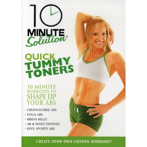 10 Minute Solution: Quick Tummy Toners (Full Frame)