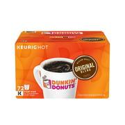 Product of Dunkin' Donuts Original Blend K-Cups (72 ct.) - Single-Serve Cups & Pods [Bulk Savings]