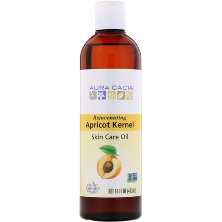 Aura Cacia  Skin Care Oil  Rejuvenating Apricot Kernel  16 fl oz  473 ml Natural Spa Apricot