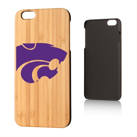KS Kansas State K-State Insignia Bamboo Case for iPhone 6 Plus ()
