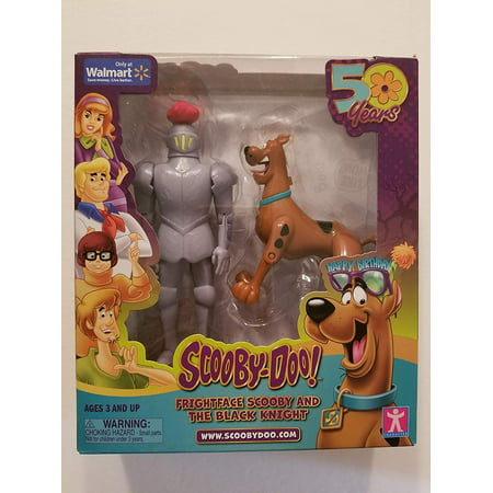 Scooby-Doo Frightface Scooby & The Black Knight Action Figures
