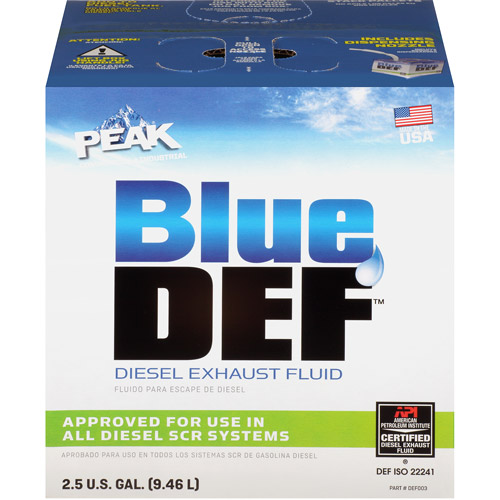 BLUEDEF Diesel Exhaust Fluid, 2.5 gal