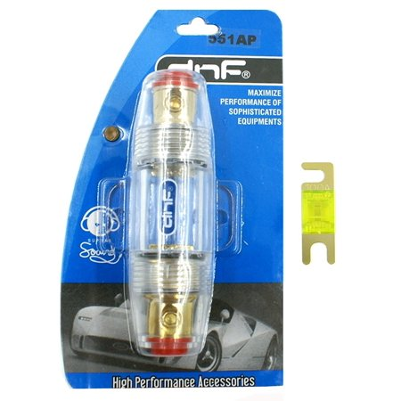 DNF ANL Mini Fuse Holder 8 Gauge (FREE 100 AMP ANL MINI FUSE)