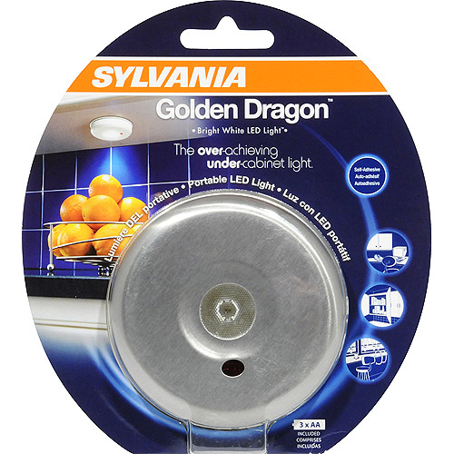 SYLVANIA 72407 - DOT-IT GOLDEN DRAGON LED MOTION ACTIVATED SILVER LIGHT (DOTI