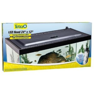 Tetra Natural Daylight LED Aquarium Hood, 24'' x 12'', 5 watt