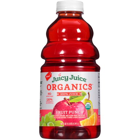 Halloween Fruit Punch Alcoholic (Juicy Juice Organics, Fruit Punch, 48 Fl Oz, 1)