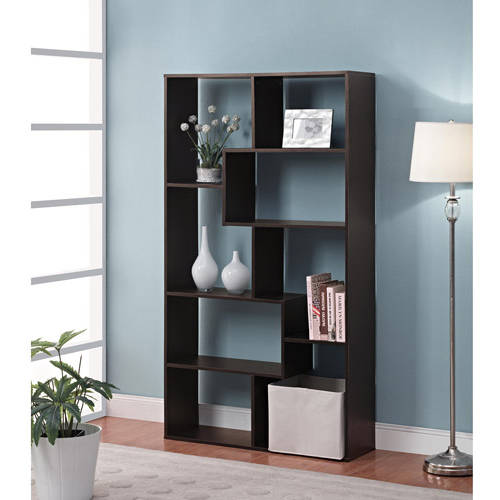 Mainstays Home 8-Shelf Bookcase, Multiple Finishes