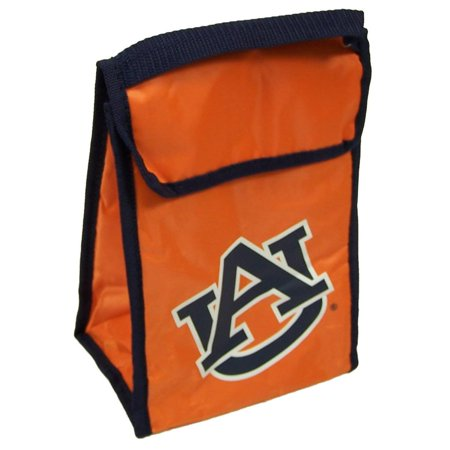 Auburn Tigers Official NCAA 9 inch x 7 inch x 5 inch Insulated Lunch Box Lunchbox Bag by Forever Collectibles