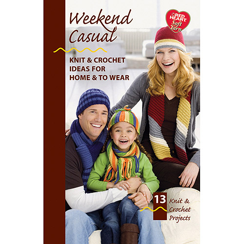 Coats and Clark Weekend Casual, Red Heart Soft Yarn