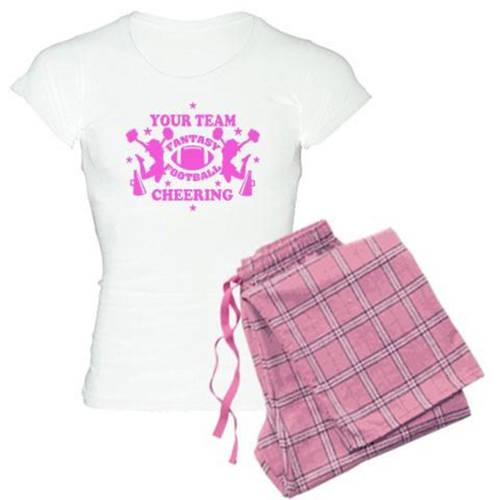Cafepress Personalized Your Team Fantasy Cheering Pajamas