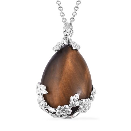 South Tigers Eye Pendant Necklace 24