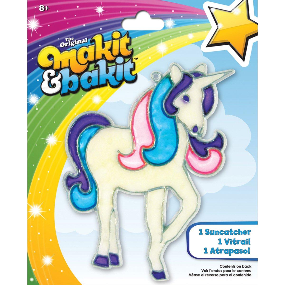 Makit & Bakit Suncatcher Kit-Glitter Unicorn - image 1 de 1