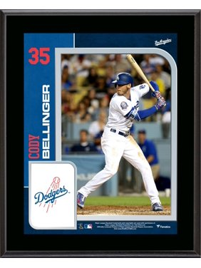 "Cody Bellinger Los Angeles Dodgers 10.5"" x 13"" Sublimated Player Plaque"