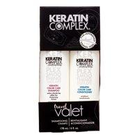 (28% Off Deal) Keratin Complex Color Care Travel Valet Shampoo & Conditioner, 3oz each
