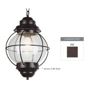 Trans Globe Lighting 69906 Modern 1 Light Down Lighting Small Outdoor Pendant From The