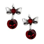 Black Cherry Pair of Earrings by Alchemy UL17 [Jewelry] Alchemy Carta