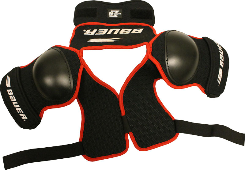 BAUER HOCKEY SHOULDER PADS YOUTH Size JR LARGE Lindros L88 Boys by