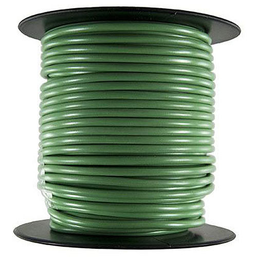 JT&T Products 185C 18 AWG Green Primary Wire, 100' Spool