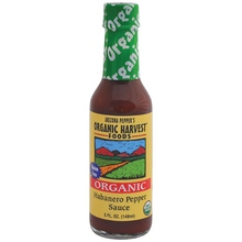 Arizona Peppers Habanero Pepper Sauce (12x5 Oz) by Organic Harvest