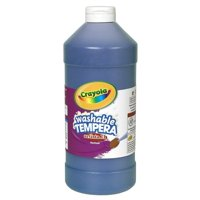 Crayola Artista Ii Washable Tempera Paint, 32 Oz, Blue