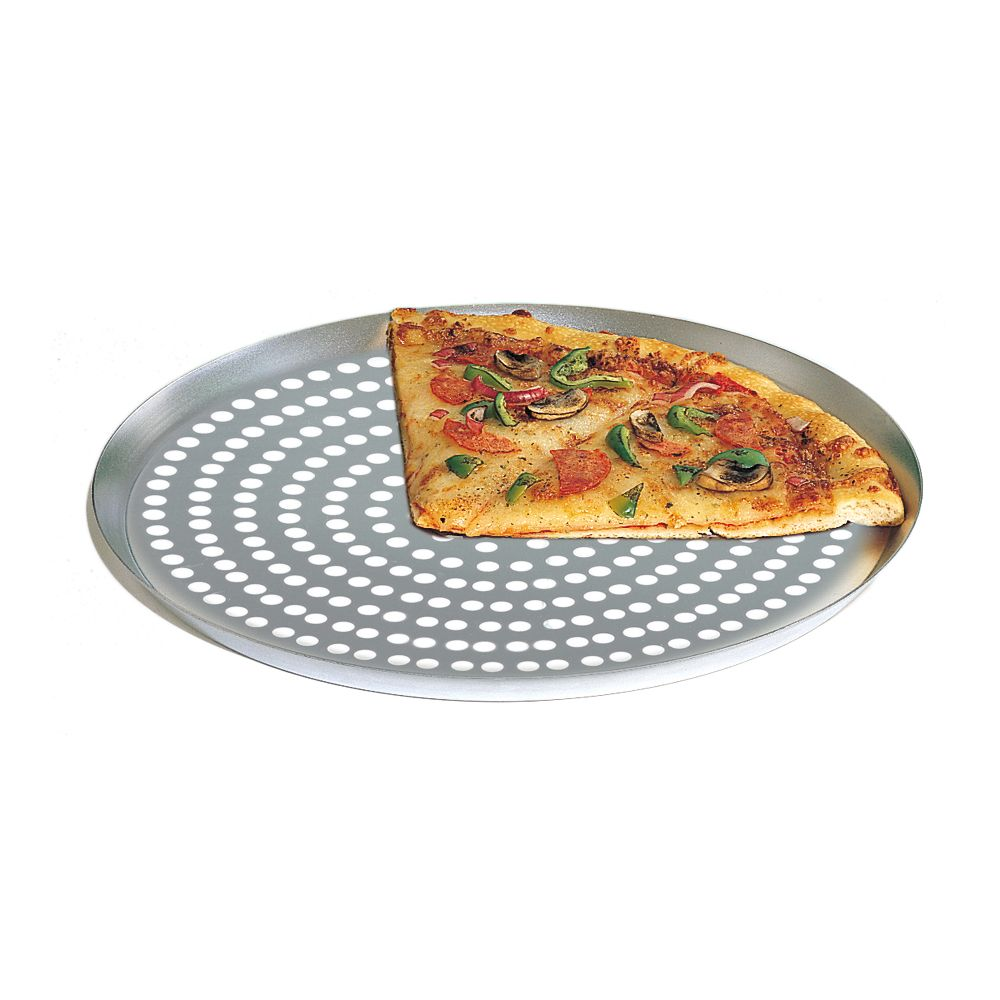 """American Metalcraft CAR14SP Super Perforated Nested 14"""" Pizza Pan by American Metalcraft"""
