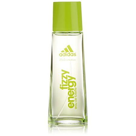 meet affordable price fashion styles Adidas Fizzy Energy Eau de Toilette Spray for Women, 1.7 Ounce