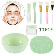 11pcs/set DIY Face Mask Makeup Tools Beauty Brush Spoon Stick Bowl Spray Makeup Brush Cosmetics