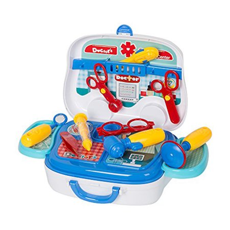 KARMAS PRODUCT Doctor Nurse Medical Kit Pretend Role Play Toy for Kids - Toy Doctor Kit