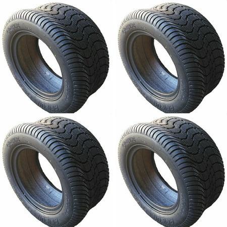 (4) Arisun 205/50-10 DOT Street Tires for EZGO, Club Car, Yamaha Golf Carts