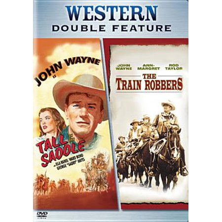 The Train Robbers / Tall in the Saddle (DVD)