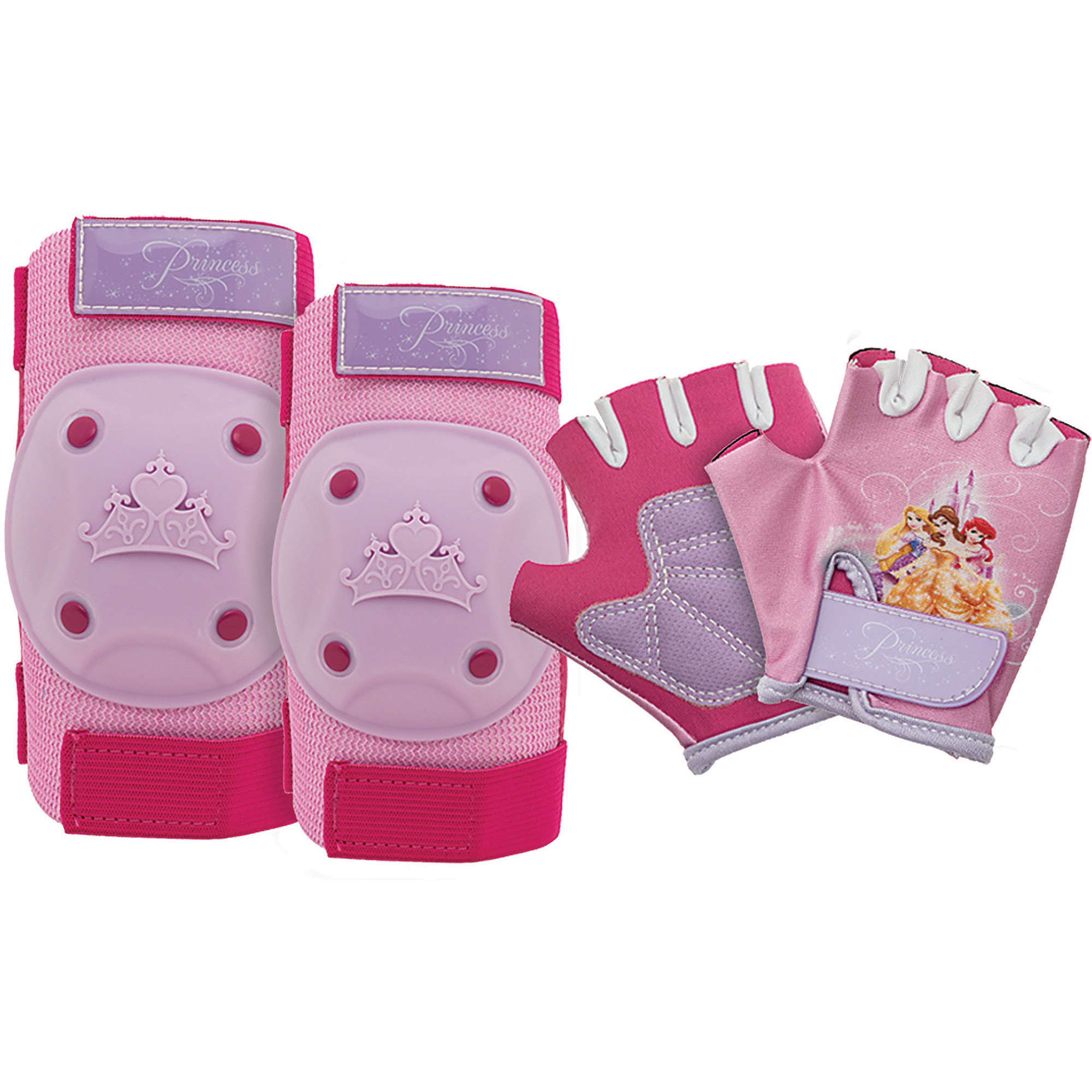 Bell Sports Princess Pad Set