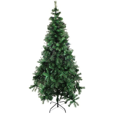 Fake Christmas Tree.7 Artificial Christmas Tree Unlit 7ft Fake Christmas Pine Tree 890 Tips Green 7 Foot Christmas Tree With Plastic Base For Holidays 7 X 49
