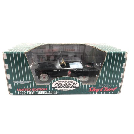 Gearbox 1956 Ford Thunderbird Black Texaco Sky Chief Series 7 Diecast Replica Pedal Car