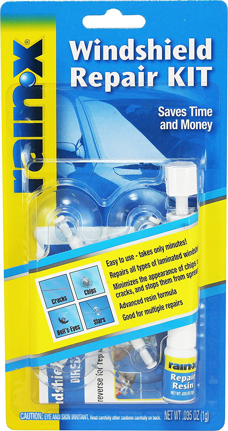 Windshield Replacement Huntsville Al >> Rain X Windshield Repair Kit Saves Time And Money By Repairing Chips And Cracks Quickly And Easily 600001 Walmart Com