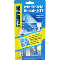 Rain - X Windshield Repair Kit, SAVES TIME AND MONEY BY REPAIRING CHIPS AND CRACKS QUICKLY AND EASILY - 600001