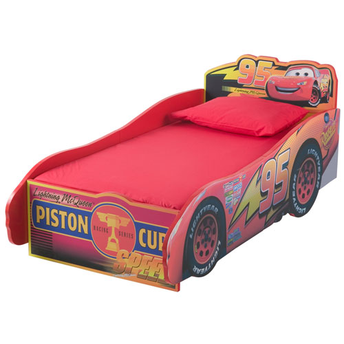 Disney - Cars Toddler Wooden Bed